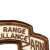 501st LRS Airborne Infantry Desert Patch | Upper Right Quadrant
