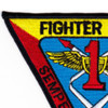 Fighter Wing 1 Pacific Patch   Upper Left Quadrant