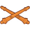 Field Artillery Crossed Cannons Canonades Patch