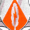 501st Airborne Signal Battalion Patch Vox Aquilae   Center Detail