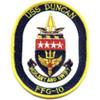 FFG-10 USS Duncan Patch