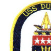 FFG-10 USS Duncan Patch | Upper Left Quadrant