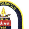 FFG-10 USS Duncan Patch | Upper Right Quadrant