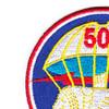 501st Airborne Infantry Regiment Patch Geronimo - Version E   Upper Left Quadrant