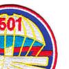 501st Airborne Infantry Regiment Patch Geronimo - Version E   Upper Right Quadrant