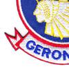 501st Airborne Infantry Regiment Patch Geronimo - Version E   Lower Left Quadrant