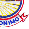 501st Airborne Infantry Regiment Patch Geronimo - Version E   Lower Right Quadrant