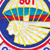 501st Airborne Infantry Regiment Patch Geronimo - Version E   Center Detail