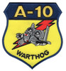 Fairchild Republic A-10 Thunderbolt II Patch Warthog