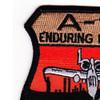 Fairchild Republic A-10 Thunderbolt II Patch Enduring Freedom | Upper Left Quadrant