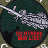 Fairchild Republic A-10 Thunderbolt II Ground Combat SAR Patch   Center Detail