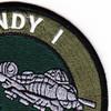 Fairchild Republic A-10 Thunderbolt II Ground Combat SAR Patch   Upper Right Quadrant