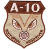 Fairchild Republic A-10 Thunderbolt II Ground Attack Aircraft Patch Nocturnal Hogdriver