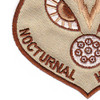 Fairchild Republic A-10 Thunderbolt II Ground Attack Aircraft Patch Nocturnal Hogdriver | Lower Left Quadrant