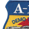 Fairchild Republic A-10 Demo Team East Patch | Upper Left Quadrant