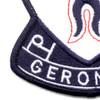 501st Airborne Infantry Regiment Geronimo Patch   Lower Left Quadrant