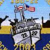 IBU-22 Inshore Boat Unit Twenty Two Patch | Center Detail