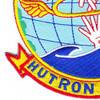 HUTRON One HU-1 Patch Helicopter Utility Squadron Patch | Lower Left Quadrant