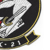 HX-21 Air Test And Evaluation Squadron Patch | Lower Right Quadrant