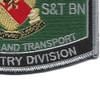 4th Supply Transportation Battalion Bn Patch | Lower Right Quadrant