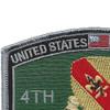 4th Supply Transportation Battalion Bn Patch | Upper Left Quadrant