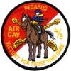 4TH Squadron 3rd ACR Pegasus Color Patch