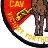 4TH Squadron 3rd ACR Pegasus Color Patch   Lower Left Quadrant