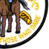 4TH Squadron 3rd ACR Pegasus Color Patch   Lower Right Quadrant