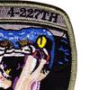4th Squadron 227th Aviation Regiment Attack Reconnaissance Battalion B Company Patch | Upper Right Quadrant