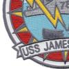 DD-787 USS James E. Kyes Patch - Version A | Lower Left Quadrant