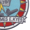 DD-787 USS James E. Kyes Patch - Version A | Lower Right Quadrant