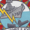 DD-787 USS James E. Kyes Patch - Version A | Center Detail