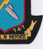 DD-747 USS Samuel Moore Patch | Lower Right Quadrant