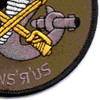 4th Sqaudron 3rd Aviation Cavalry Regiment Q Troop Patch OD   Lower Right Quadrant