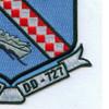 DD-727 USS DeHaven Patch | Lower Right Quadrant