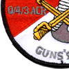 4th Sqaudron 3rd Aviation Cavalry Regiment Q Troop Patch | Lower Left Quadrant