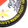 4th Sqaudron 3rd Aviation Cavalry Regiment Pegasus Troop Patch Hook And Loop | Lower Right Quadrant