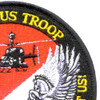 4th Sqaudron 3rd Aviation Cavalry Regiment Pegasus Troop Patch Hook And Loop | Upper Right Quadrant