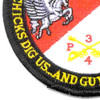 4th Sqaudron 3rd Aviation Cavalry Regiment Pegasus Troop Patch Hook And Loop | Lower Left Quadrant