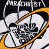Hight Altitude Low Opening Parachutist Patch HALO | Center Detail