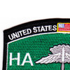 High Altitude Low Opening Parachutist MOS Patch HALO | Upper Left Quadrant