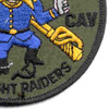 4th Sqaudron 3rd Aviation Cavalry Regiment Patch Outrider OD | Lower Right Quadrant