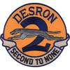 Desron 2 Destroyer Squadron Patch