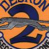 Desron 2 Destroyer Squadron Patch | Center Detail