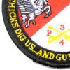 4th Sqaudron 3rd Aviation Cavalry Regiment Patch Pegasus Troop   Lower Left Quadrant