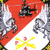 4th Sqaudron 3rd Aviation Cavalry Regiment Patch Hook And Loop   Center Detail