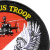 4th Sqaudron 3rd Aviation Cavalry Regiment Patch Hook And Loop   Upper Right Quadrant