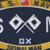 Deck Signalman Rating Patch | Center Detail