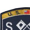 Deck Signalman Rating Patch | Upper Left Quadrant