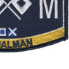 Deck Signalman Rating Patch | Lower Right Quadrant